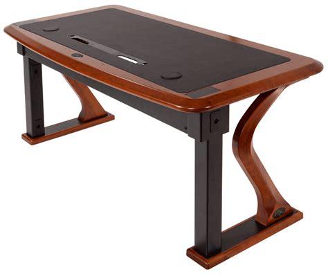 solid cherry computer desk artistic computer desk caretta workspace