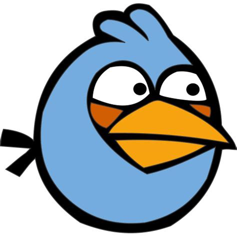 Blue Bird Angry Birds Light Iron On Stickers Heat Angry Birds Lights