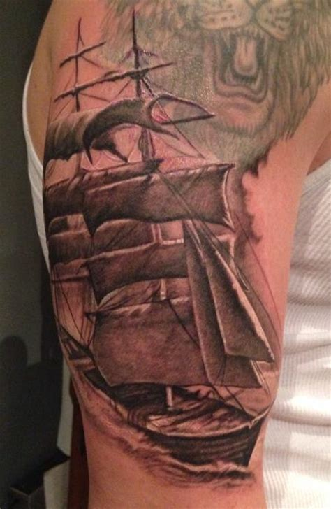 clipper ship tattoo clipper ship by stevie monie tattoos