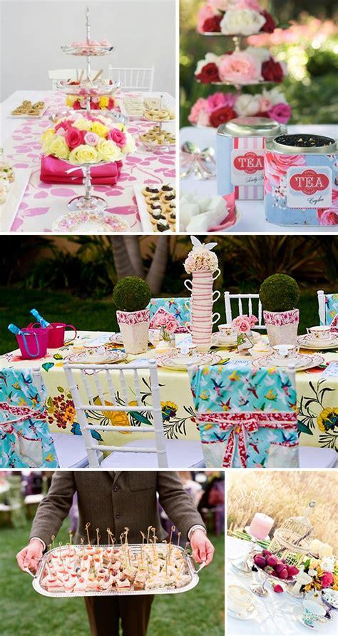 Tea Themed Bridal Shower by Bridal Shower Theme Tea Events Bridal Showers Tea Tins