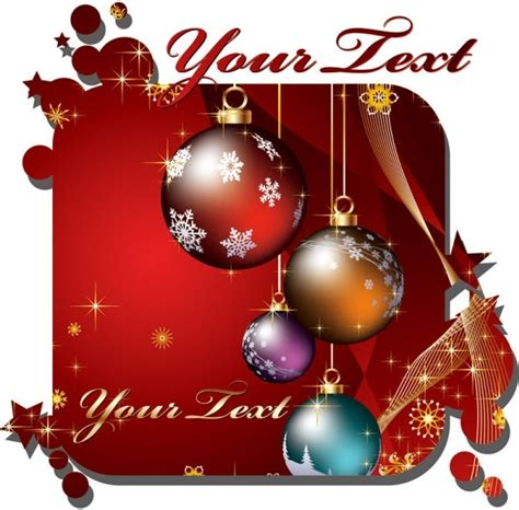 beautiful christmas cards vector  vector  encapsulated postscript eps eps vector