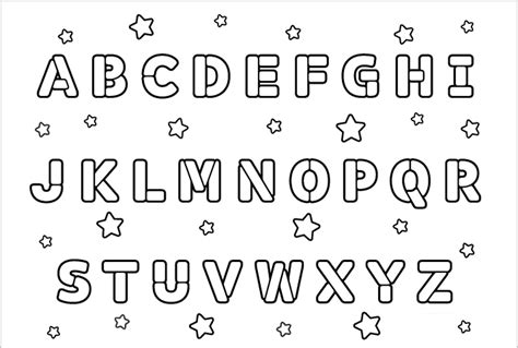 alphabet a b c coloring book books coloring pages for abcdefghijklmnopqrstuvwxyz