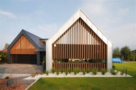 house with barn 5 most popular gable roof types and 26 ideas digsdigs