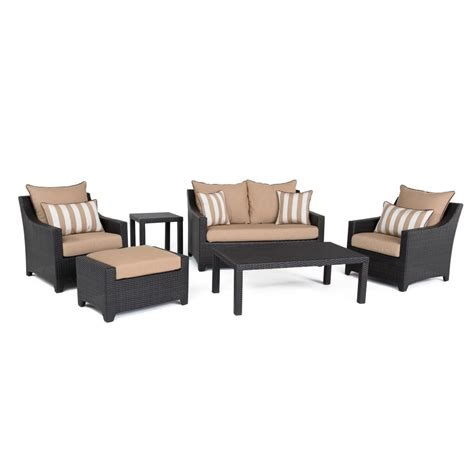 rst brands deco 6 all weather wicker patio and