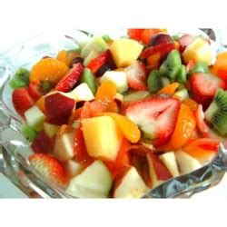 summertime tropical fruit salad recipe allrecipescom summer fruit salad recipe allrecipes com