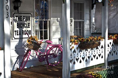 pink bicycle tea room the pink bicycle tea room photograph by brack