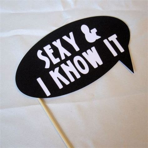 printable photo booth props words photobooth props sexy i know it word bubble by