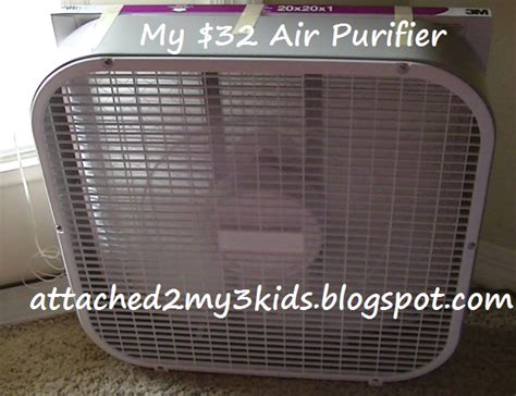 20 inch box fan hepa filter attached to my my 32 air purifier