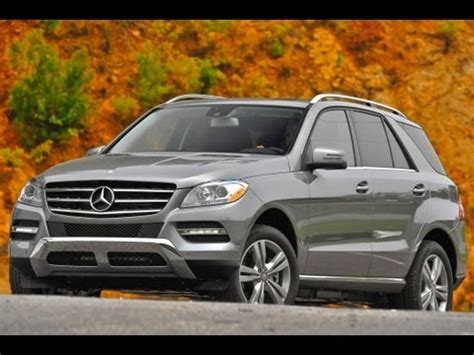 2013 mercedes benz ml350 start up and review 3.5 l v6