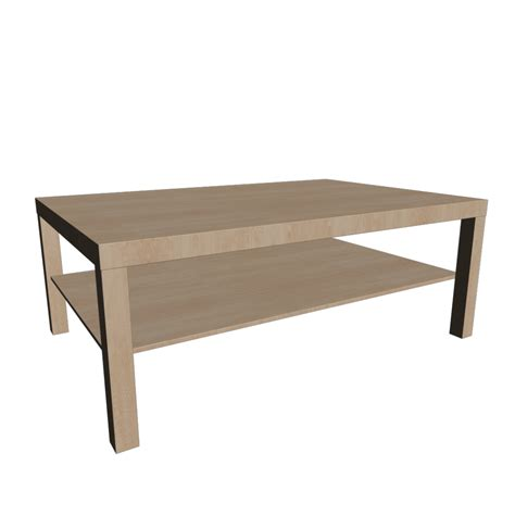 Ikea Birch Coffee Table Lack Coffee Table Birch Effect Design And Decorate Your Room In 3d