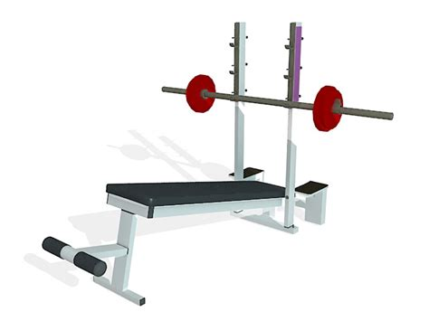 modells weight bench strength weight bench 3d model 3ds max files free download