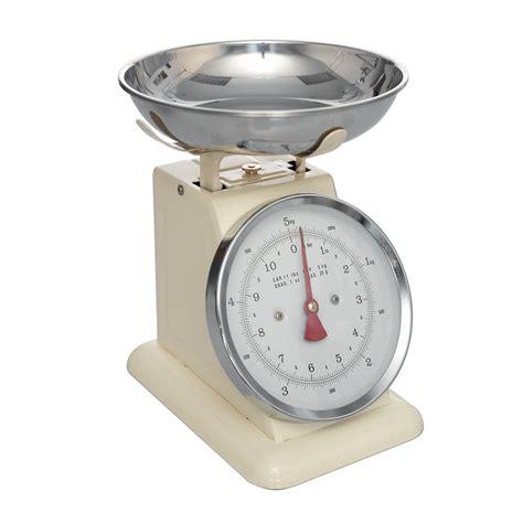 Vintage Kitchen Scales by Ivory Kitchen Scales Dotcomgiftshop