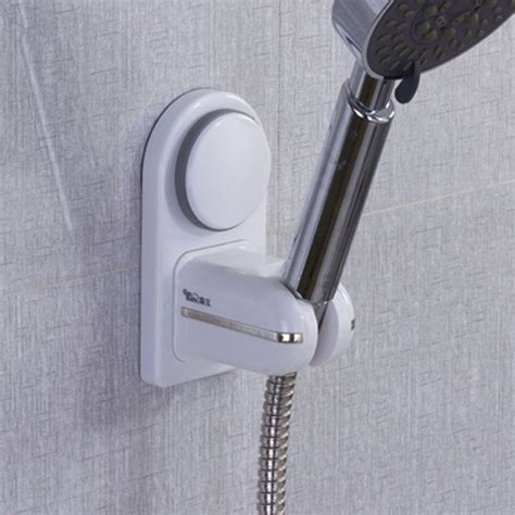 bathroom shower holder new 2014 bathroom shower head holder with suction cup 1pcs