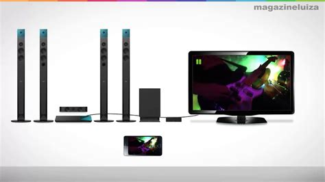 home theater sony bdv nw youtube