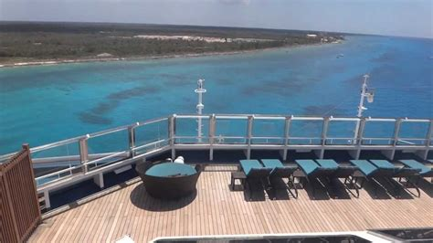 carnival liberty serenity top deck 14 youtube