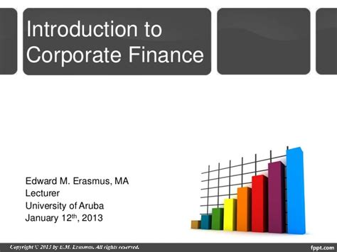 Ua Mba Application by Introduction To Corporate Finance Guest Lecture Mba Class Ua