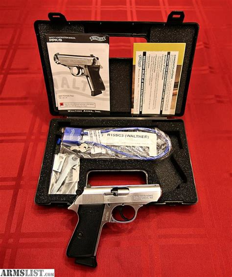 Walther Ppk S 22lr Nickel armslist for sale walther ppk s 22lr in nickel like new