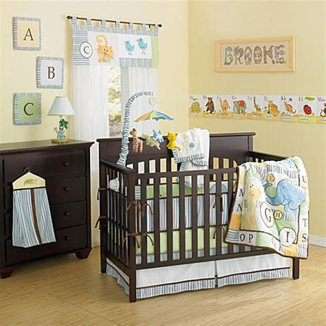 Country Crib Bedding New Country Home Abc Animal Friends 10 Crib Bedding Set Buybuy Baby