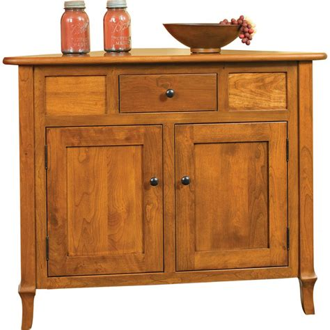 buffet collection jacob martin collection corner buffet amish crafted furniture