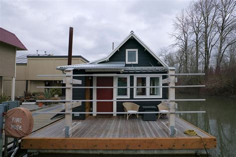 images about tiny house communities on floating floating home tender