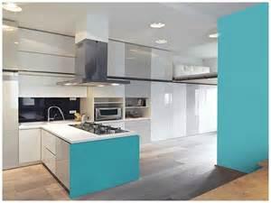 Bien Couleur De Meuble Tendance #2: couleur-celadon-dans-une-cuisine-americaine-design.jpg