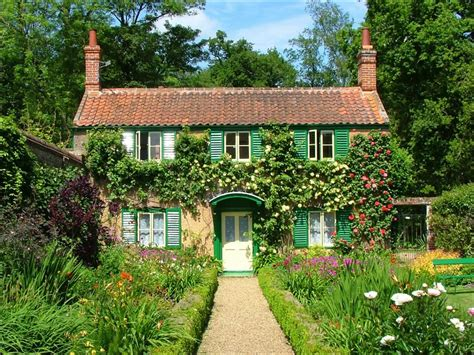 a cottage house small country garden ideas country cottage garden ideas