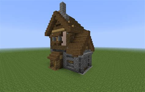 looking to build a house minecraft small wooden house plan best house design
