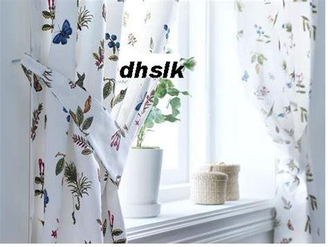 floral curtains ikea ikea alvine v 196 xt vaxt drapes curtains floral botanical htf