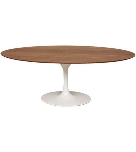 tavolo eero saarinen saarinen tavolo ovale in legno knoll milia shop