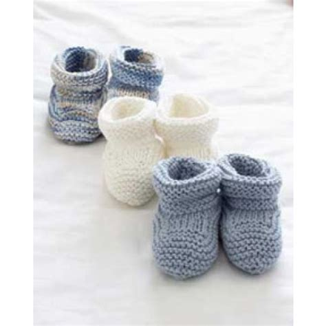 free knitting patterns for baby socks on two needles free baby booties knit pattern