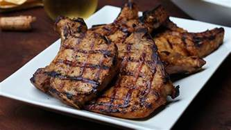 grilled pork chops minimalist recipes