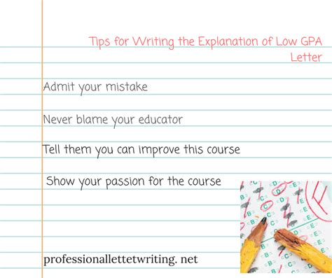 Explanation Letter For Low Sales Performance service for writing a letter explaining low gpa