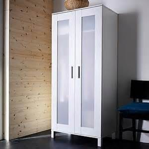 Wardrobe Armoire White Ikea Aneboda Wardrobe Armoire White Polyvore