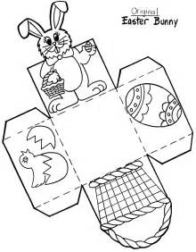 Easter Basket Template by Early Play Templates Want To Make A Simple Easter Basket