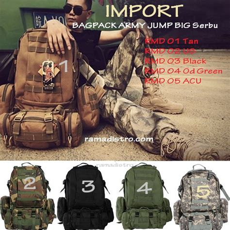 Combat Shirt Hijau Od Baju Combat Shirt Odbaju Velcrobaju Bdu Army 50l molle 3 day assault tactical outdoor