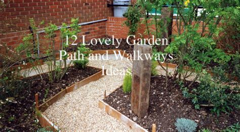 Garden Improvement Ideas 12 Lovely Garden Path And Walkways Ideas Home And Gardening Ideas Home Design Decor