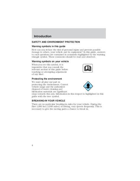 auto manual repair 2002 mazda tribute instrument cluster 2002 mazda tribute owners manual