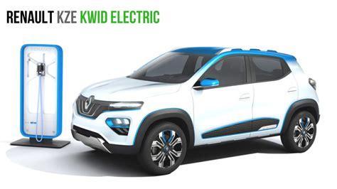 renault india india bound renault kwid electric renault kze with 250