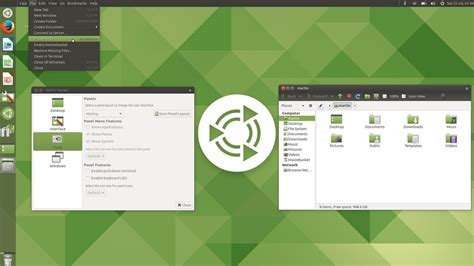 unity force layout update ubuntu mate 17 10 welcomes unity fans with new mutiny