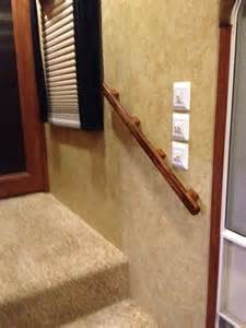rv stairs with handrails rv net open roads forum fifth wheels rail needed on