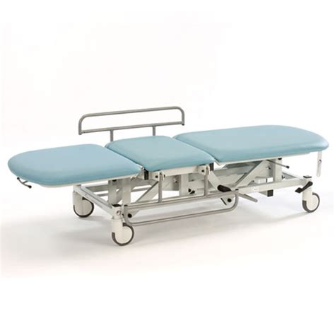 mobile couch medicare 3 section mobile treatment couch with electric