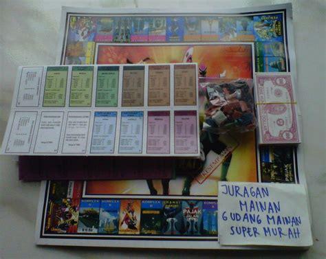 Mainan Anak Monopoli Murah Monopoly 5 In 1 jual mainan monopoli mancanegara 2 in 1 size s juragan mainan