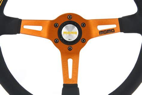 volante sportivo momo momo pelle volante sportivo alla deriva 350mm nero