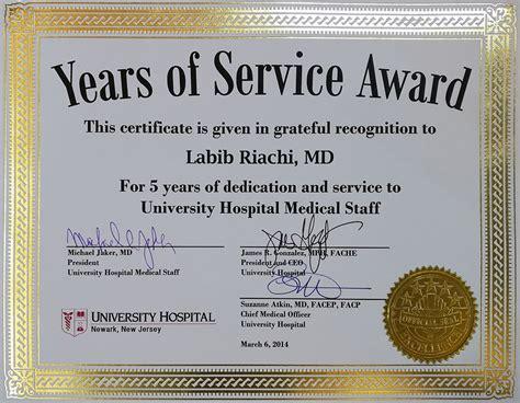 certificate of appreciation 10 years enjoying my path