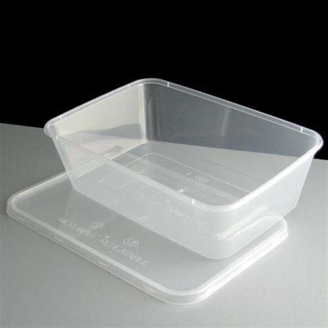 Container Microwave 650ml plastic containers clear tubs and lids microwave takeaway food safe ebay