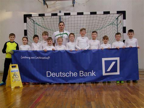 deutsche bank wittenberg neue f 246 rderer sponsern die u11 ii