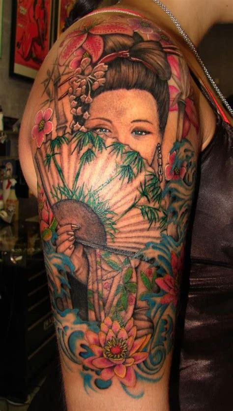geisha warrior tattoo drawings geisha warrior tattoo designs ink pinterest warrior