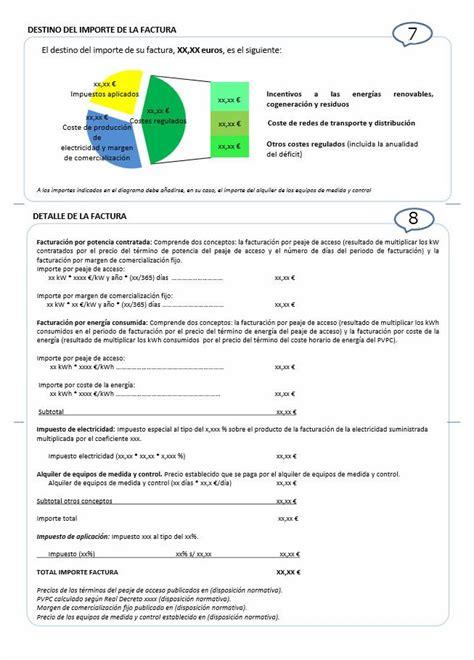 modelos de facturas 2015 factura de la luz 2014