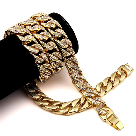 aliexpress buy 24k gold finish 15mm 30 quot iced out hip
