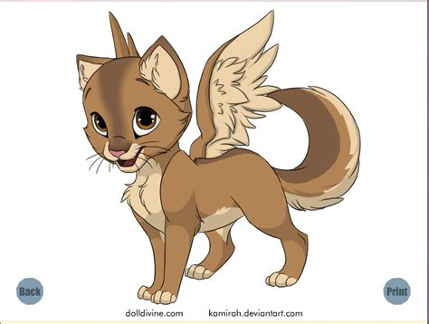 cute anime cat with wings drawings cute brown cat with wings by aiandoragon on deviantart